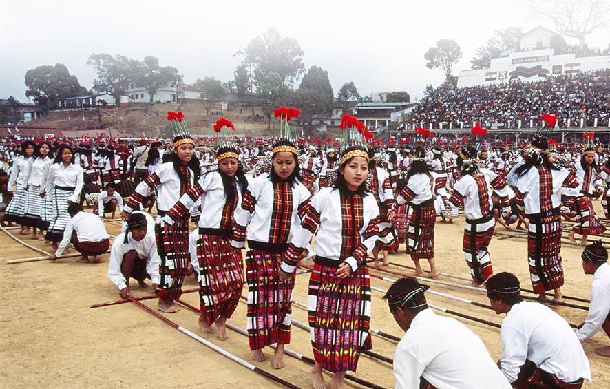 Kuki tribe dance