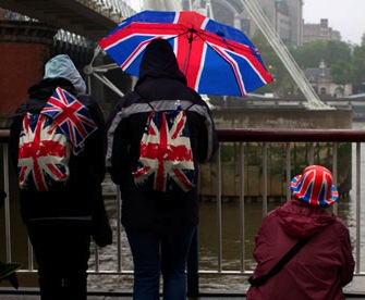 Union jack umbrella