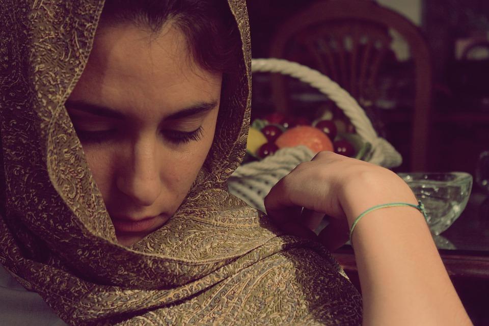 Cloths Scarf Islamic Lady Veil Women Fabric
