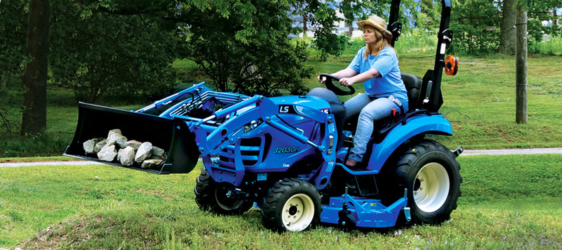 LS Tractor   J Series
