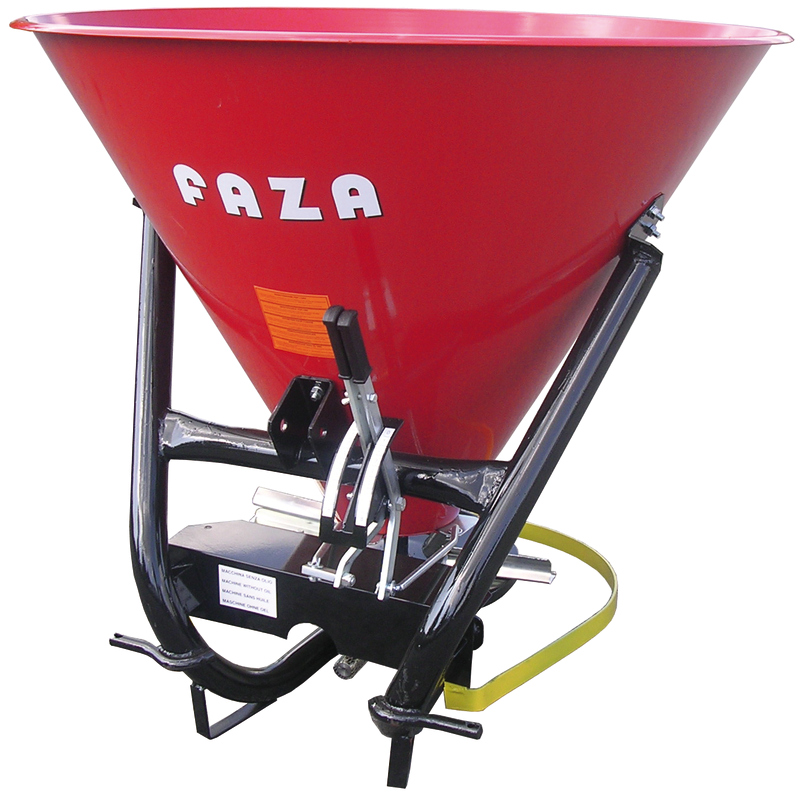 "FAZA ROUND FERTILIZER SPREADER ""F"" MODEL"