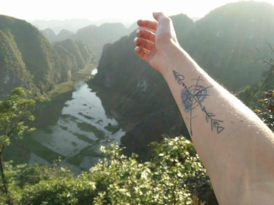 Check out these amazing travel tattoos!