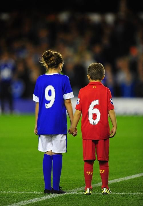 red or a blue. Liverpool or Everton
