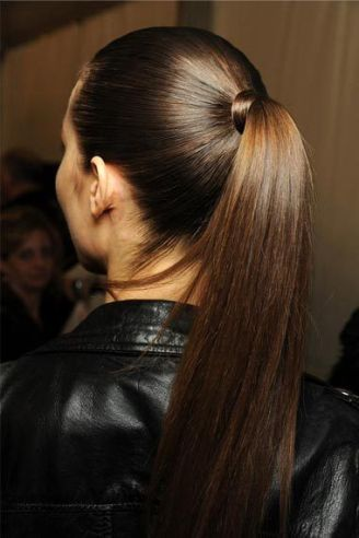 How To Get The Trendy Sleek Ponytail Look And Rock It
