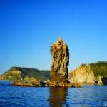 隠岐屈指の観光スポット『ローソク島』①/展望台からの雄大な眺め