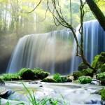 鍋ヶ滝 ~水のカーテンの幻想光景、「裏見の滝」筆頭~