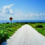白い貝殻の道 ~日本最北端の地で見る爽やかな風景~