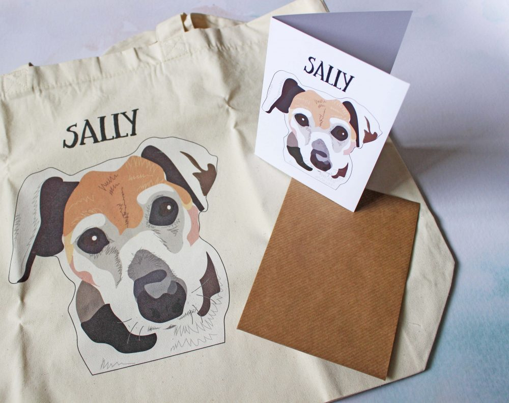 Perfect Pawtrait Dog Club October - Bag and Cards