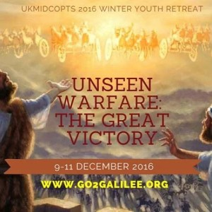 """Unseen Warfare: The Great Victory"" Winter Youth Retreat 2016"