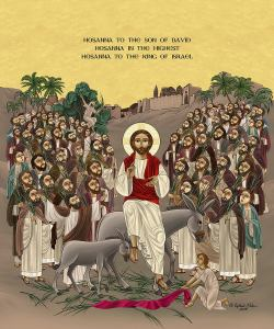 Tomorrow We Celebrate Palm Sunday