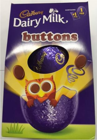 Cadbury's Buttons Easter Egg