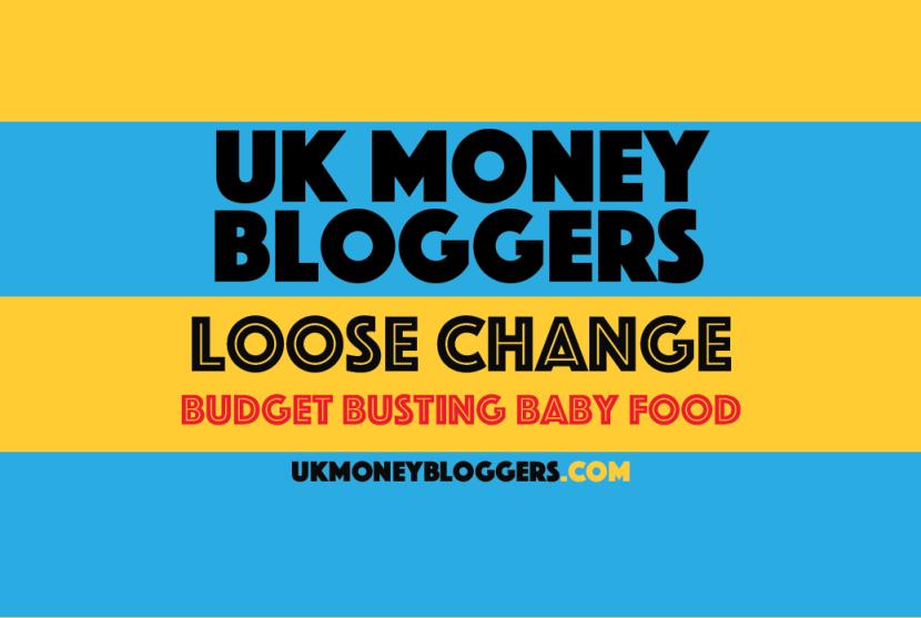 Loose change budget busting baby food