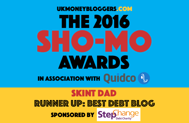 Runner up best debt blog