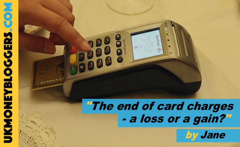 is the end of charging for credit card payments in January 2018 a loss or a gain?