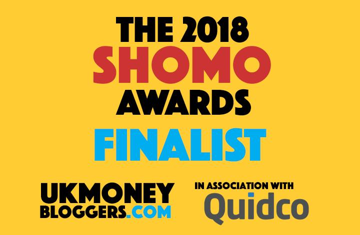 SHOMOs 18 finalist badge