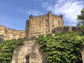 Fortified keep (tower) of Durham Castle, now a university residence!