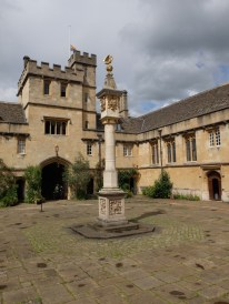 Sundial at Corpus Christi College, Oxford