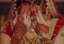 marriage mehndi