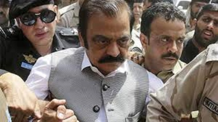 rana sanaullah arrested