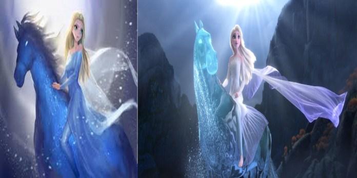 Elsa the Snow Queen - Frozen 2