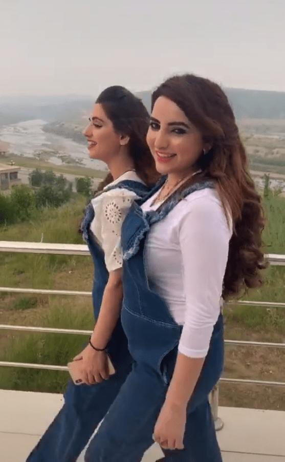 Hareem shah and sandal Khattak