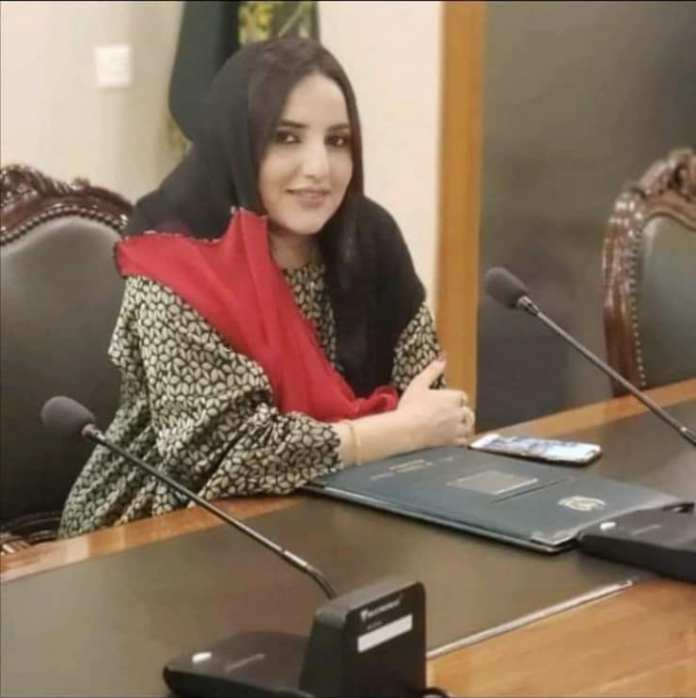 hareem shah in foreign office