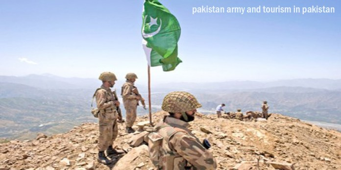 pakistan army and tourism in pakistan