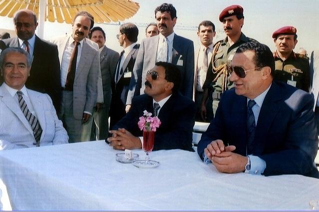 Ali Abdullah Saleh and Hosny Mubarak