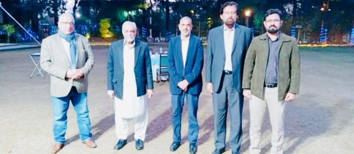 lord nazir ahmed with inspad delegation