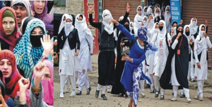 female conditions in Kashmir