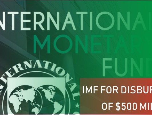 IMF for disbursement of $500 million