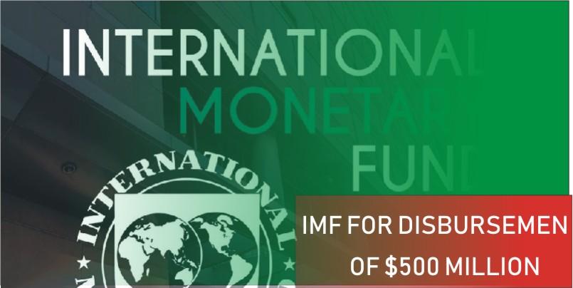 IMF for disbursement of $500 million
