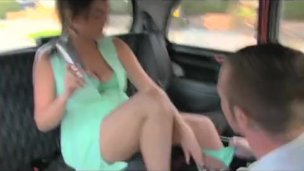 FakeTaxi – Horny young swingers in a taxi