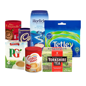 Teas, Coffee and Biscuits