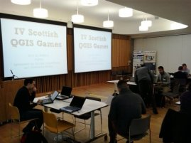 4th QGIS user group in Scotland