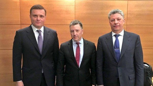 Предательство «Оппоблока»: как Бойко и Колесников заговорили голосом Курта Волкера