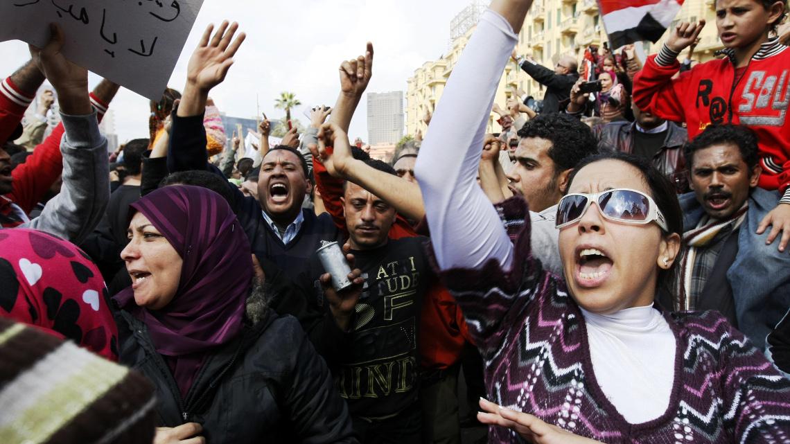 Жінки на площі Тахрір