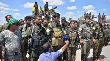 Курди Ракка