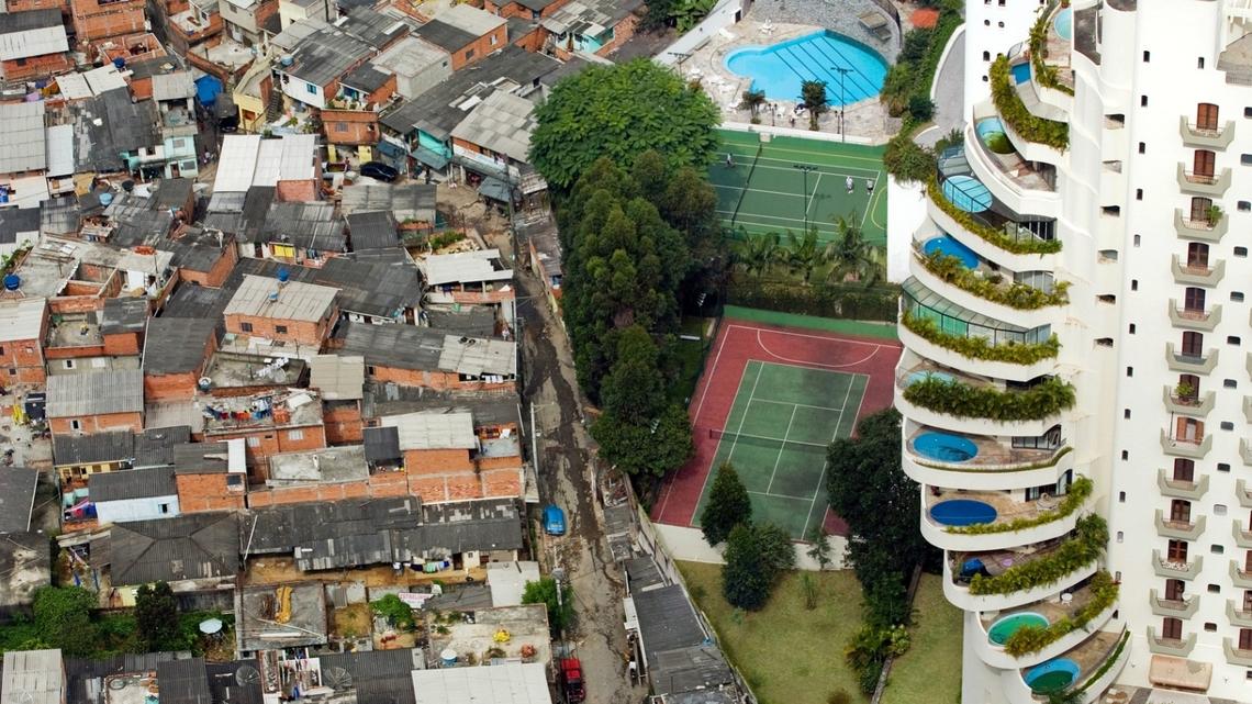Неравенство в Бразилии