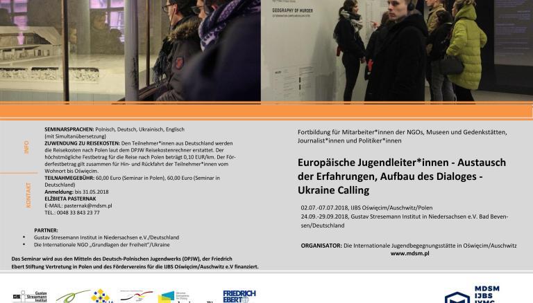 Ausschreibung UC – Projekt Europäische Jugendleiter*innen