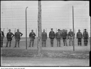 German prisoners of war in CNE compound. - [between 1914 and 1916?]