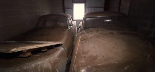 В США нашли коллекцию раритетных автомобилей. Фото: скриншот YouTube