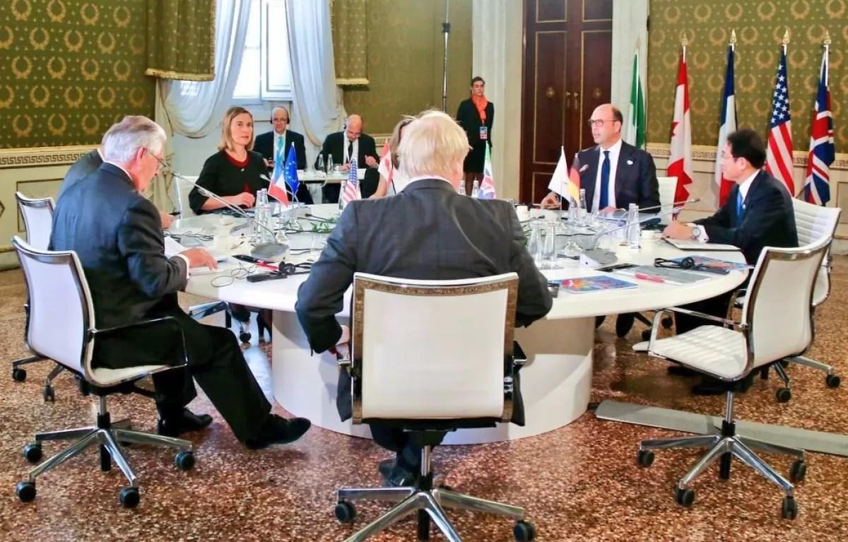 Картинки по запросу G7 министры