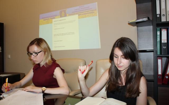 Результати робочої групи Комітету НААУ з питань надання правової допомоги учасникам АТО