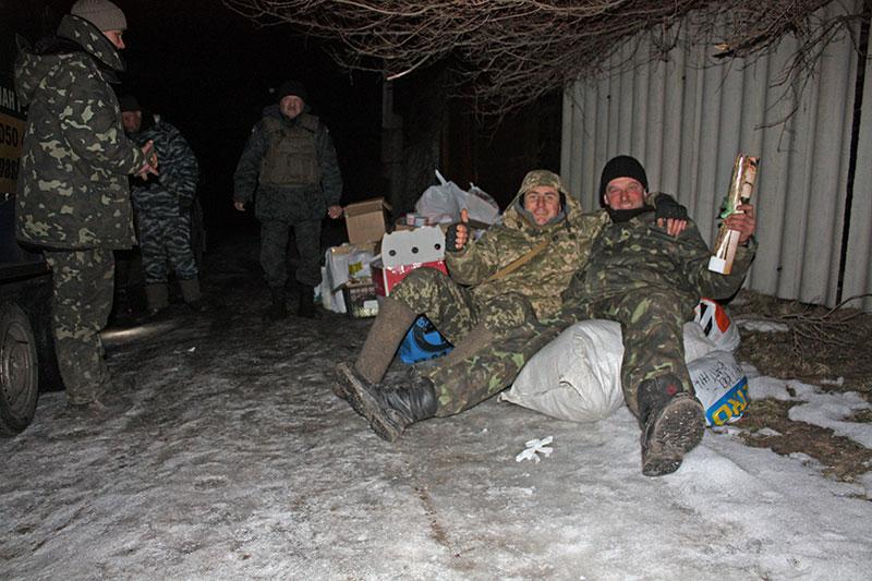 Зимові подарунки для бійців батальйону Кульчицького