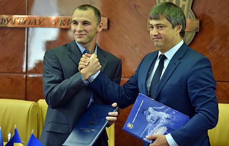 Попереду футбольний сезон: підписано договір про співпрацю з ФФУ