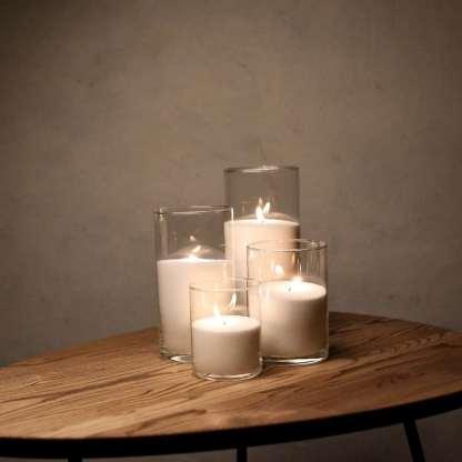 Набір Насипні Свічки 4 штуки - 12, 16, 21 і 26 см