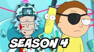 Rick and Morty  Season  4  Episode  1 Header