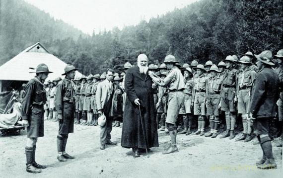 Украинские скауты 100 лет назад
