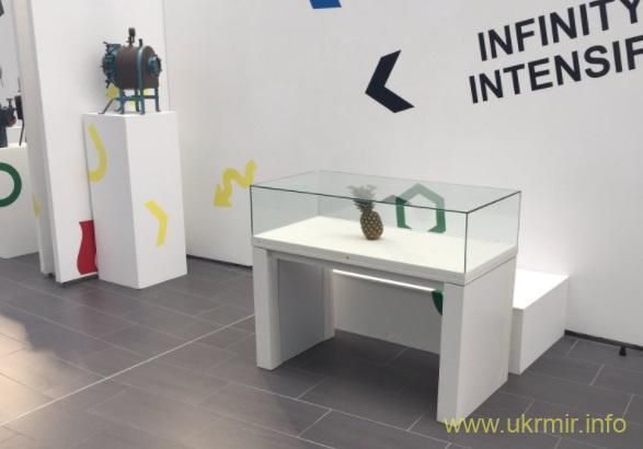 В Шотландии организаторы на выставке приняли брошенный ананас за произведение искусства